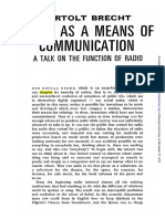 Radio as a means of communication