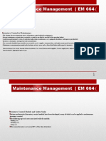 Maintenance Management3