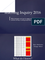 teaching inquiry 2016 power point