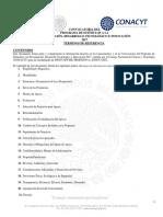 Terminos de Referencia 2017 Version CTII