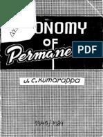 Economy of Permanence