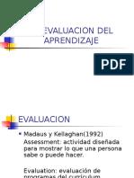 La Evaluación Del Aprendizaje