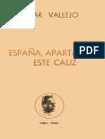España, aparta de mí este cáliz - César Vallejo (Editora Perú Nuevo).pdf