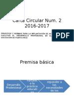 Carta Circular Num 2