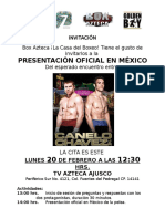 Pelea Canelo vs Chavez Jr