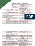 Calendario ética aplicada