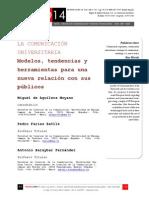 Icono14. A8/V2. La comunicación universitaria