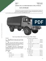 G650 Unimog UL1750 RAAF Data Summary 0