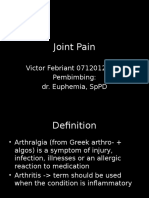 Joint Pain TD
