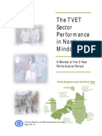 The TVET Sector in the Region