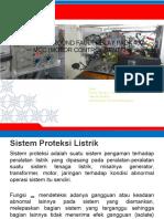 Sistem Proteksi EFR Pada Motor Control Center