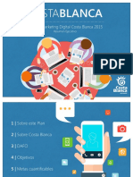 Plan de Marketing Digital Costa Blanca 2015