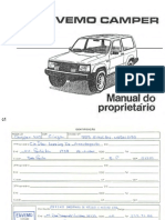 manualDoProprietárioCamper1992