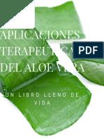 Aplicaciones Terapeuticas Del Aloe Vera