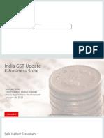 EBS India GST Update 17-Jan-2017