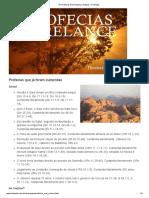 As Profecias Num Relance _ Artigos _ Chamada