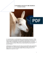 ACQUIRING & RAISING GOATS IN THE TROPICS