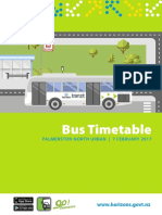 Bus Timetable Booklet FINAL 1 February 1