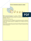 Tutorial de Prezi - Ángel Puente