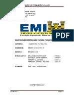 Equipos Subsuperficiales Para El Pozo Bulo Bulo 1365565656