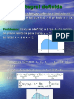 A Integral Definida Ate Teorema Fundamental Do Calculo