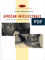 African Intellectuals_Rethinking Politics, Language, Gender and Development - Thandika Mkandawire (Editor)