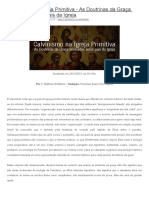 Calvinismo Na Igreja Primitiva (1)