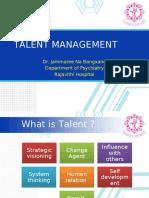 Talent Management นำเสนอ1