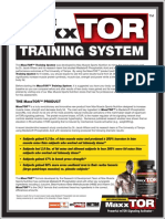 The MaxxTOR Training System by Max Muscle Nutrition