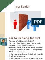 Listening Barrier