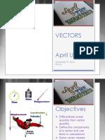 Vectors Supplement
