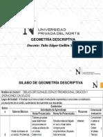 GEOMETRÍA DESCRIPTIVA Sesion_02