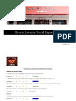 Sweta Chandan_Brand Report Card_Barista Lavazza