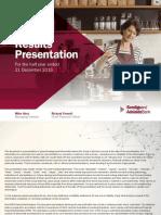 Bendigo Bank 2016 17 Half Year Results Presentation