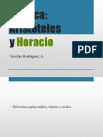 Aristóteles y Horacio
