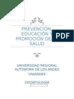 Proyecto de Salud Publica