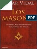Cesar Vidal Manzanares-Los Masones