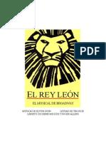 El Rey Leon Libreto Broadway.doc