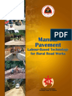 Manual Pavement Labour Based Tech for RRW