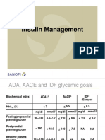 Insulin Management