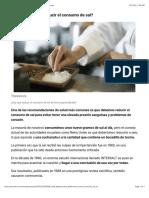 ¿Cuánto hay que reducir el consumo de sal? - BBC Mundo.pdf