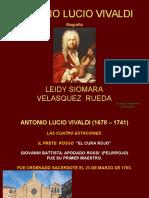 Biografia Antonio Vivaldi