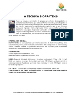 Ficha Técnica BIOPROTEK 2017