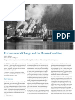 Environmental Change and the Human Condition John P. Holdren Introduction by Carl Kaysen-8