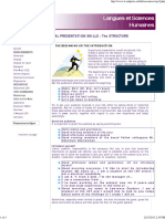 Oral Presentation Skills _The STRUCTURE
