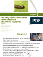 What is the Fall Army Worm