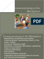 Communicating in the Workplace.1.Verbal.nonverbalComm