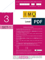 imo-level2-class-3-set-1 pdf | Fraction (Mathematics