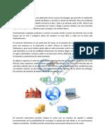 1. El Uso de Las TIC y El Comercio Electronico en Las PYMES
