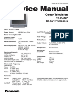 PANASONIC TX-21AT2P (CP-521P) [Www.pieseelectronice.net]